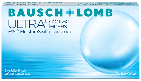 bausch and lomb ultra contact lenses packshot