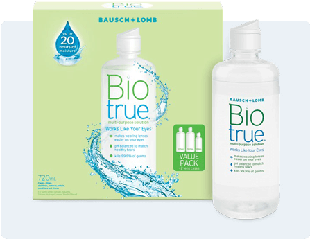 bausch and lomb biotrue multi purpose solution