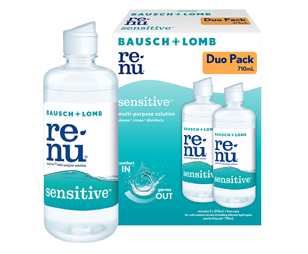 Renu Sensitive Duo 710mL